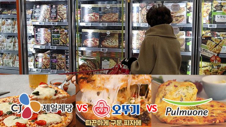 [푸드TV] 오뚜기 vs CJ vs 풀무원, 냉동피자 전쟁 '2라운드'