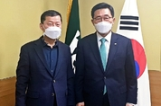 김춘진 aT 사장, 유엔거버넌스센터와 협력방안 논의