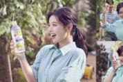 코카-콜라사 '토레타' 김유정 광고 현장 컷 공개