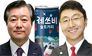 (왼쪽)이영구 롯데칠성음료 대표, (오른쪽)이창엽 한국 코카콜라 대표