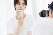 뉴이스트 황민현, 매일두유 신규 CF촬영 완료